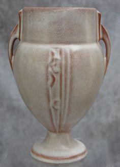 Roseville Pottery Moderne Vase #787-6, Pink, Ca. 1936