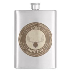 Gone Hunting Flask
