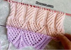 ÖRGÜLERDE ETEK ve KOL UCU ÖRGÜ BAŞLAMA MODELİ | Nazarca.com Baby Knitting Patterns, Fingerless Gloves, Arm Warmers, Fashion, Dots, Desktop, Fingerless Mitts, Moda, Fingerless Mittens