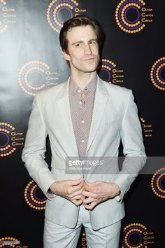 Gavin Creel attends the Outer Critics Circle 2016-2017 Awards at Sardi's on May 25, 2017 in New York City.