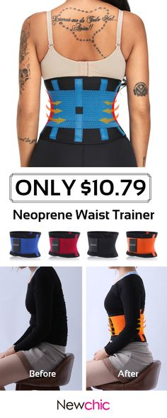 c1319532e9b Neoprene Waist Trainer Sports Burn Fat Flattern Abdomen Cincher Adjustable  Shapewear Waist Care  shapewear