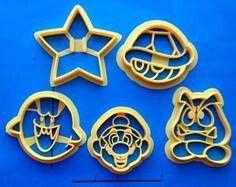 Super Mario cookie cutters