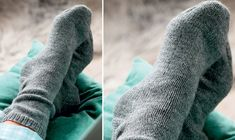 Knit yourself: Basic socks - Her World Diy Knitting Socks, Crochet Socks, Knit Crochet, Knit Socks, Knitting Patterns, Crochet Patterns, Slipper Socks, Slippers, Knitting For Beginners