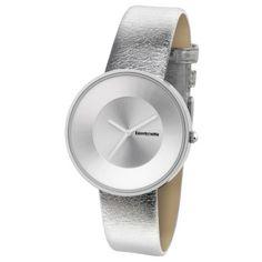 Reloj Plateado de la marca italiana de Relojes Lambretta Colección Cielo Metallic, inspirada en los looks Pin up de los 60s.   http://www.tutunca.es/reloj-plateado-lambretta-cielo-metallic-piel