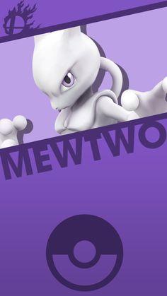 Mewtwo Smash Bros. Phone Wallpaper by MrThatKidAlex24