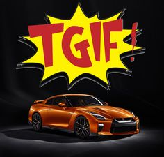 TGIF = The GT-R Is Fast! Take her for a spin this weekend and see! #MossyMovesYou #GTR #Godzilla