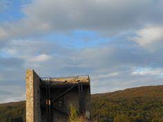 Mirador de la torre del homenaje del castillo.