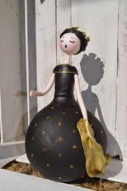 Resultado de imagem para dolls from bottle gourd