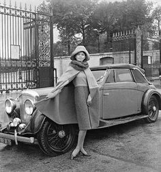 Photo by Willy Maywald, Paris 1960 by dovima_is_devine_II, via Flickr