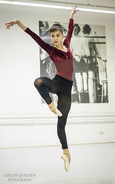"<<Rocío Alemán - Demi Soloist (México) # Stuttgarter Ballett # Rehearsal for William Forsythe´s ""The Second Detail"" # Photo © Carlos Quezada>>"