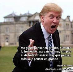 """EL MASTER DEL GUAPO HACKER: LOS 10 MANDAMIENTOS DE DONALD TRUMP PARA HACERSE RICO, Y EL LIBRO """"QUEREMOS QUE SEAS RICO"""""""