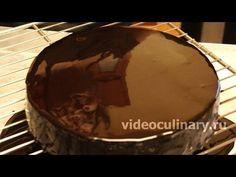 Зеркальная шоколадная глазурь - Видеокулинария.рф - видео-рецепты Бабушки Эммы