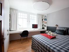 Design apartment - bedroom, Schlafzimmer. Foto: Christine Andorfer