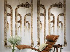 Nonwoven wallpaper GALERIE DES GLACES Pleats Collection by Elitis