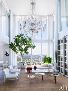 Living Room and Chad Oppenheim in Miami, FL