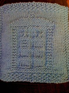 The Most Awesomest TARDIS Dishcloth EVAR - better than the first?