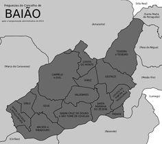 Freguesias do concelho de Baião