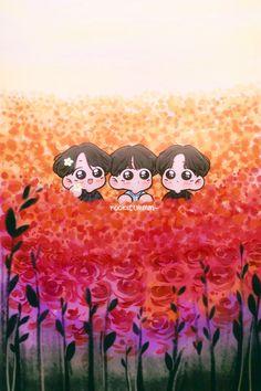 Lucy Van Pelt, Cute Anime Chibi, Bts Chibi, Charlie Brown, Woodstock Snoopy, Bts Drawings, Art Series, Bts Fans, Kpop Fanart