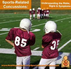In addition to football, sport-related concussions are common in other youth and high school sports including soccer, lacrosse, basketball, hockey, and cheerleading. Learn more about the risks, signs  symptoms: