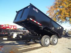 6 x 12 dump trailer with 3 ft sides equipment ramps led lights axles by best trailers Best Trailers, Dump Trailers, Work Trailer, Covered Wagon, Heavy Equipment, Trucks, Led, Lights, Tools