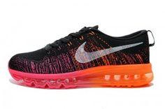 Nike Flyknit Air Max Femme Foot Locker Rose Noir Orange