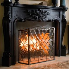 29 best fireplace screens images fireplace screens fire places rh pinterest com