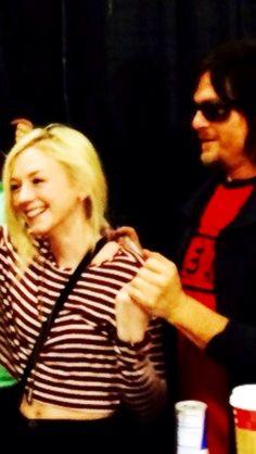 Norman e Emily no segundo dia da WSC NY/NJ 2014