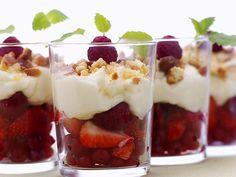 Granola and Fruit Parfait - Prebiotics and Probiotics: Creating a Healthier You