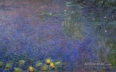 Claude Monet Morning (right-center Detail) oil painting reproductions for sale