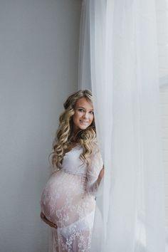 Jayme's Maternity Boudoir Session - Salem, Oregon Studio Boudoir Photographer