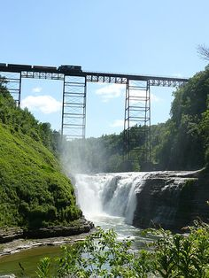 Letchworth State Park, NY ... by Bear Tales