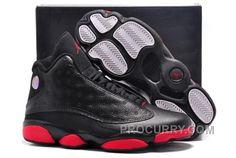 de4449b998e453 Air Jordans 13 Retro Infrared 23 Black Red For Sale Hot