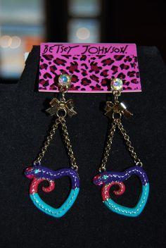Betsey Johnson... Earings - $25.00