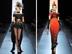 Designer work inspired by 1970s fashion - Punk fashion by Jean Paul Gaultier