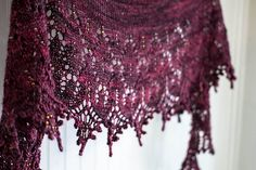 madelinetosh tosh merino light Colorway: Oxblood purlebanjo's Indian Summer (Sweet Dreams Pattern by Boo Knits)