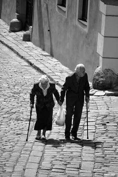 Due anziani che si amano
