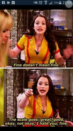 2 Broke Girls funny scene (this is incredibly true) haha Funny Quotes, Funny Memes, Hilarious, Funny Captions, Funniest Memes, It Memes, Funny Humour, Drunk Humor, Ecards Humor
