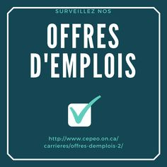 Offres d'emplois - École élémentaire et secondaire publique L'Équinoxe : https://lnkd.in/evrUyxB  #IciMonEcole