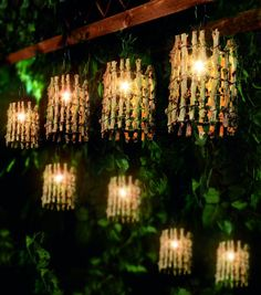 Decorative Outdoor Lighting 20 Twig Lantern Garden