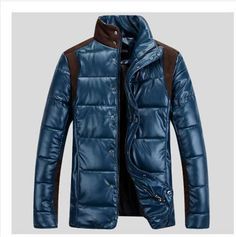 >> Click to Buy << 2014 Men warm winter leather jacket male plus size cotton padded clothes outwear jaquetas masculinas inverno S497 #Affiliate