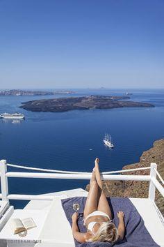 Luxe life in Santorini