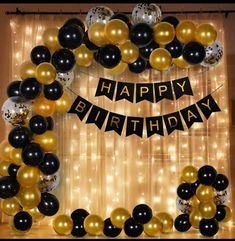 Birthday Decoration Items, Surprise Party Decorations, Happy Birthday Decor, Simple Birthday Decorations, 18th Birthday Party, Happy Birthday Balloons, Birthday Background, Marie, Retail Stores