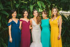 Bridesmaids Style | Miami Wedding Photographer | Little River Studios Wedding | Moriah Cuda Photography