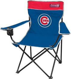 MLB Chicago Cubs Broadband Quad Chair #Coleman