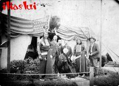 Photo taken 1889 in Paris, France. Standing L-R: Rocky . Oglala Sioux, Wild West Show, Venice Image, Famous Portraits, Painter Artist, Native American Indians, Native Americans, Old West, Red Shirt