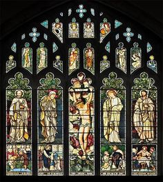 The east window of St James church in Cumbria, UK, was designed by famous artist William Morris in 1873. It's not the most spectacular one in this list, but definitly beautiful. Photo by Dave Lawrance.