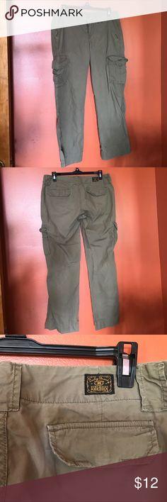 Lucky Brand cargo pants Comfy lucky brand cargo pants . Lucky Brand Pants Straight Leg