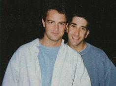 Matthew Perry & David Schwimmer