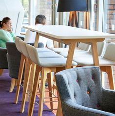 Agent, Lyndon   Agent by Lyndon is a hard wearing, comfortable, robust range suitable for offices, meetings, board rooms, breakout zones, cafe, and visitor seating areas. The set can be used together or separately to offer a versatile furniture choice for any space. The chairs can be upholstered in a range of fabric and colour options.   Creating Happy Offices   Sound Proof Acoustic Phone Booths   Framery UK & Office Blueprint