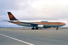 Orion Airways Airbus A300 in 1987. Photo by Pedro Aragão
